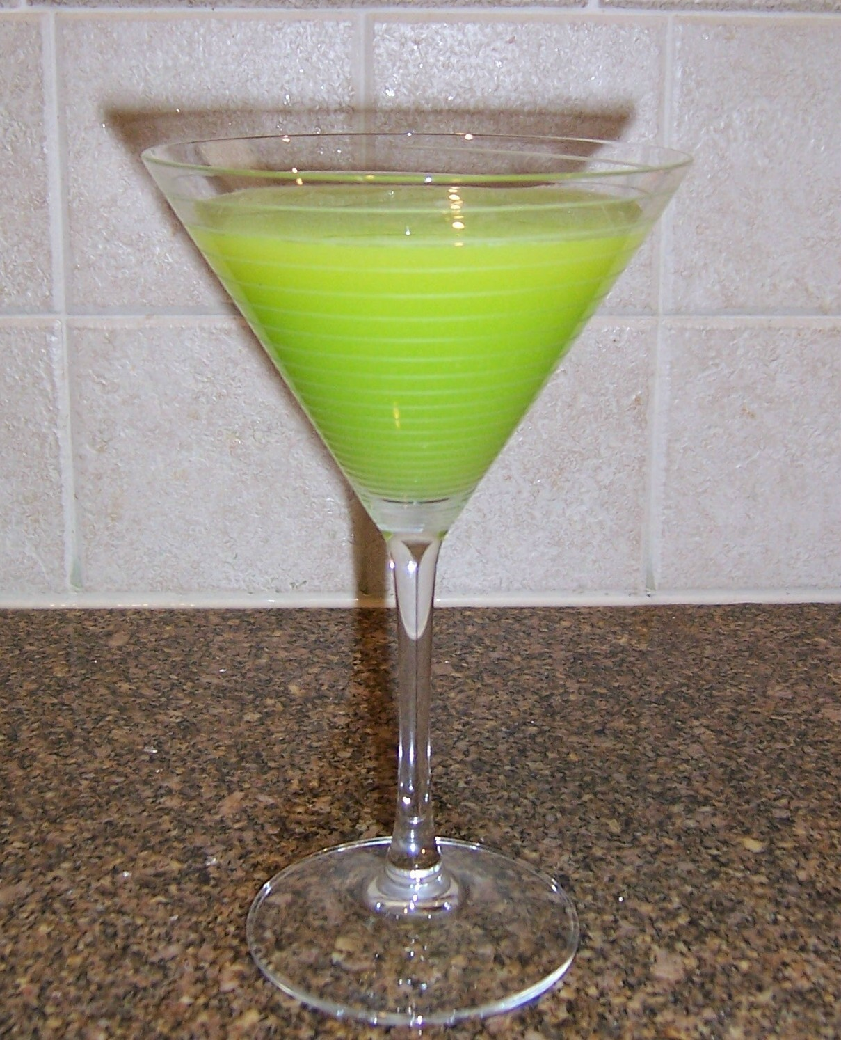 Marvelous Melon Martini